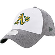 New Era Women's Oakland Athletics 9Twenty Sparkle Shade White/Grey Adjustable Hat