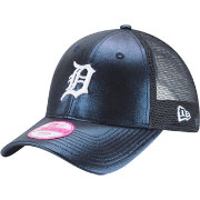 New Era Women's Detroit Tigers 9Forty Glam Team Navy Adjustable Hat