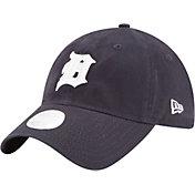New Era Women's Detroit Tigers 9Twenty Team Glisten Navy Adjustable Hat