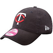 New Era Women's Minnesota Twins 9Forty Essential Navy Adjustable Hat