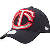 New Era Women's Minnesota Twins 9Forty Glitter Glam Adjustable Hat