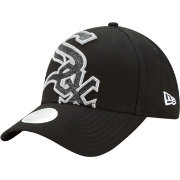 New Era Women's Chicago White Sox 9Forty Glitter Glam Adjustable Hat