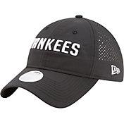 New Era Women's New York Yankees 9Twenty Team Tagged Black Adjustable Hat