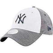 New Era Women's New York Yankees 9Twenty Sparkle Shade White/Grey Adjustable Hat