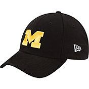 New Era Women's Michigan Wolverines Black 9TWENTY Adjustable Hat