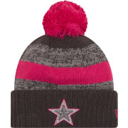 New Era Women's Dallas Cowboys Breast Cancer Awareness 2016 Pink Pom Knit