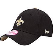 New Era Women's New Orleans Saints Sideline 9Forty Black Adjustable Hat