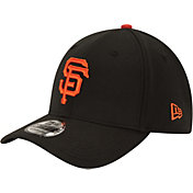 New Era Youth San Francisco Giants 39Thirty Classic Black Stretch Fit Hat