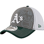 New Era Youth Oakland Athletics 39Thirty Shadow Reflect Stretch Fit Hat