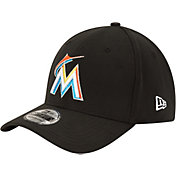 New Era Youth Miami Marlins 39Thirty Classic Black Stretch Fit Hat