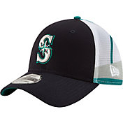 New Era Youth Seattle Mariners 39Thirty Mascot Wrap Stretch Fit Hat