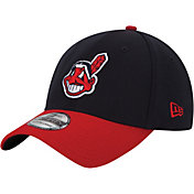 New Era Youth Cleveland Indians 39Thirty Classic Navy Flex Hat