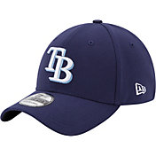 New Era Youth Tampa Bay Rays 39Thirty Classic Navy Stretch Fit Hat
