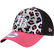 New Era Youth Girls' Tampa Bay Rays 9Forty Cheetah Chic Adjustable Hat