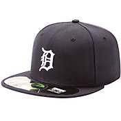 New Era Youth Detroit Tigers 59Fifty Home Navy Authentic Hat
