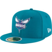 New Era Youth Charlotte Hornets 59Fifty Teal Fitted Hat