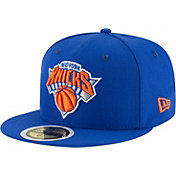 New Era Youth New York Knicks 59Fifty Royal Fitted Hat