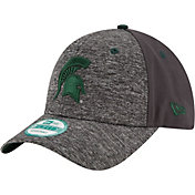 New Era Youth Michigan State Spartans Grey The League Shadow 9Forty Adjustable Hat