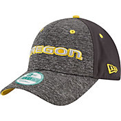 New Era Youth Oregon Ducks Grey The League Shadow 9Forty Adjustable Hat