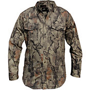 Natural Gear Men's Bush Long Sleeve Button-Up Hunting Shirt