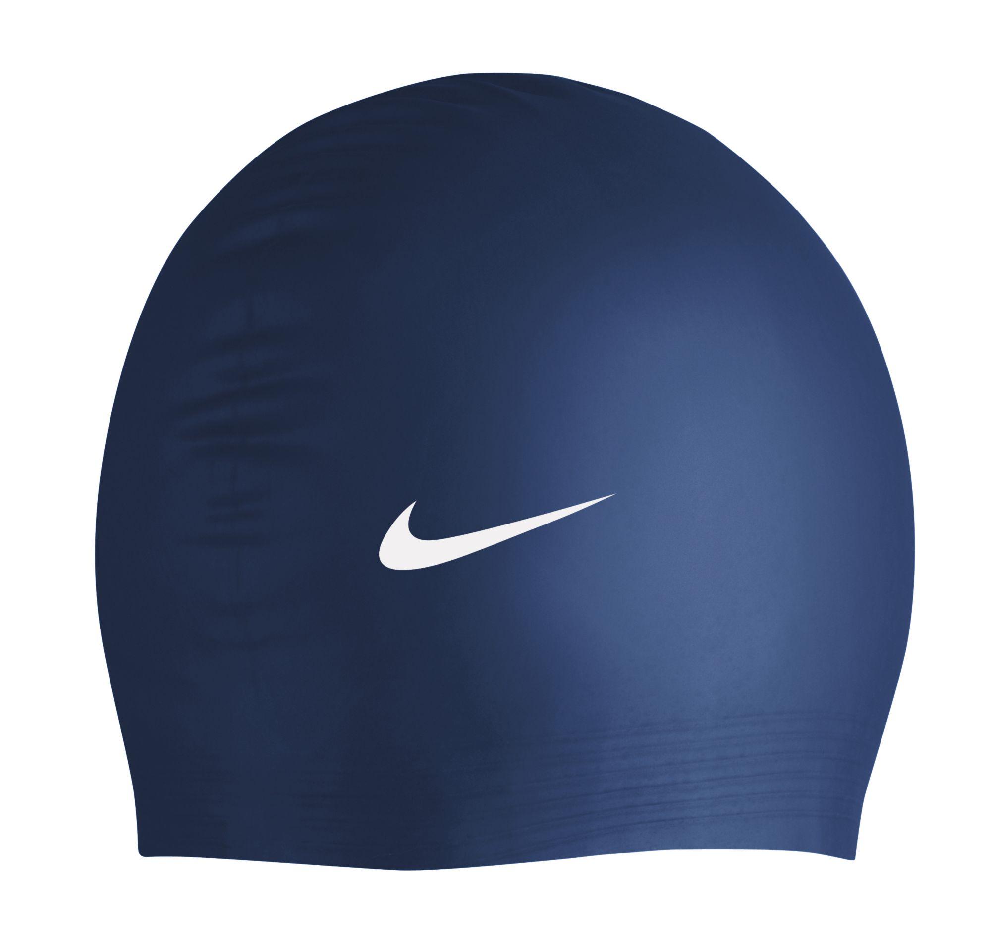 swim caps for adults kids dick s sporting goods product image nike flat latex swim cap