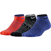 Nike Boys' Graphic Cotton Low Cut Socks 3 Pack