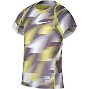 Nike Little Boys' Cool Fitted All-Over Print T-Shirt