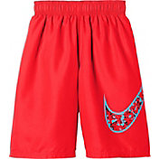 "Nike Boys' Core Swoosh 9"" Volley Shorts"