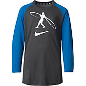 Nike Boys' Swingman ¾ Sleeve Baseball Shirt
