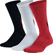 Nike Boys' Graphic Cushion Crew Socks 3 Pack