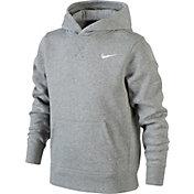 Nike Boys' YA76 Club Cotton Hoodie