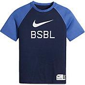 Nike Boys' Dry BSBL Swoosh Graphic T-Shirt