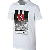 Nike Boys' Dry Liftoff Graphic Basketball T-Shirt