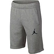 Jordan Boys' Flight Lite French Terry Basketball Shorts