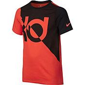 Nike Boys' Dry KD Logo Graphic Basketball T-Shirt