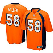 Nike Boys' Home Game Jersey Denver Broncos Von Miller #58