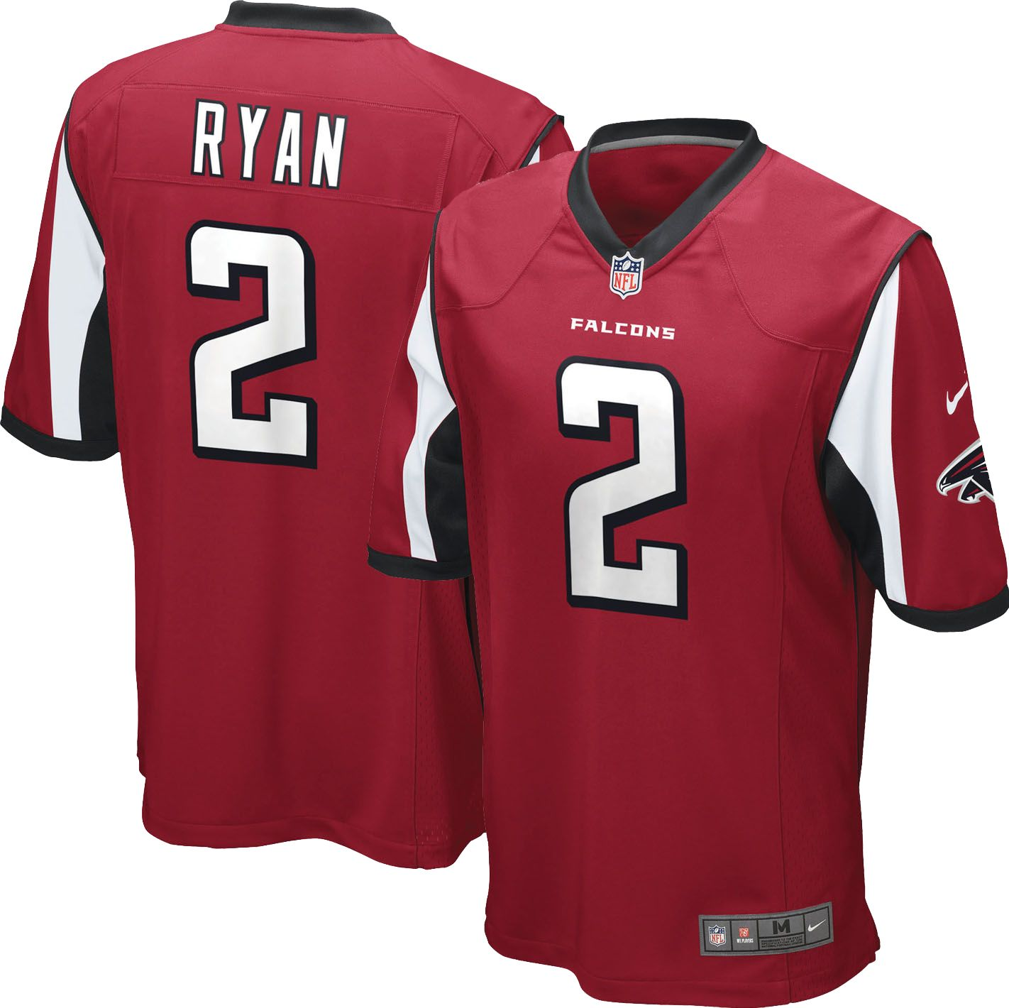 07f86cbb5 pink matt ryan womens jersey nfl atlanta falcons 2 game new be luvd ...