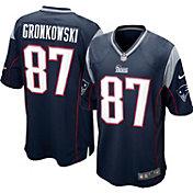 Nike Boys' Home Game Jersey New England Patriots Rob Gronkowski #87