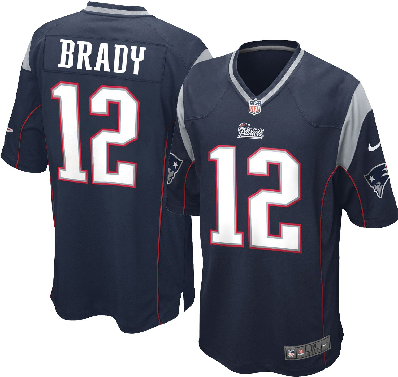 tom brady in his jersey