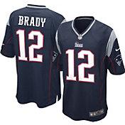 Nike Boys' Home Game Jersey New England Patriots Tom Brady #12