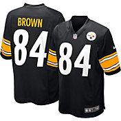 Nike Boys' Home Game Jersey Pittsburgh Steelers Antonio Brown #84