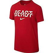 Nike Boys' Beast Graphic Football T-Shirt