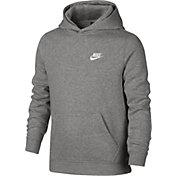 Nike Boys' Sportswear Club Cotton Fleece Hoodie