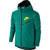 Nike Boys' Sportswear Tech Fleece Windrunner Full Zip Hoodie