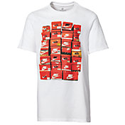 Nike Boys' Sportswear Vintage Shoebox Graphic T-Shirt