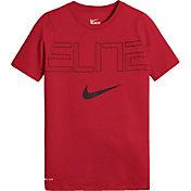 Nike Boys' Dry Elite Basketball T-Shirt