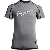 Nike Boys' Pro Cool HBR Fitted T-Shirt