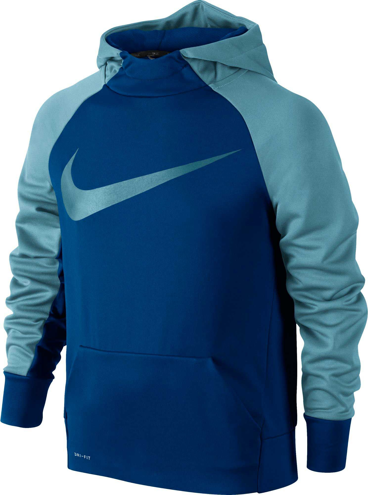 Product Image � Nike Boys\u0027 Therma Swoosh Graphic Hoodie