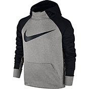 Nike Boys' Therma Swoosh Graphic Hoodie