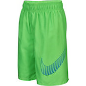 Nike Boys' Evenflow Big Swoosh 9'' Volley Shorts